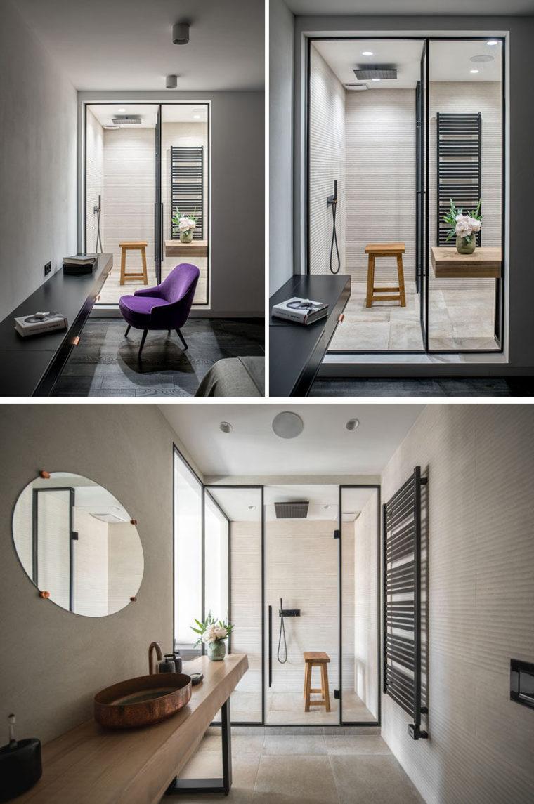 乌克兰两间小公寓合并改造设计