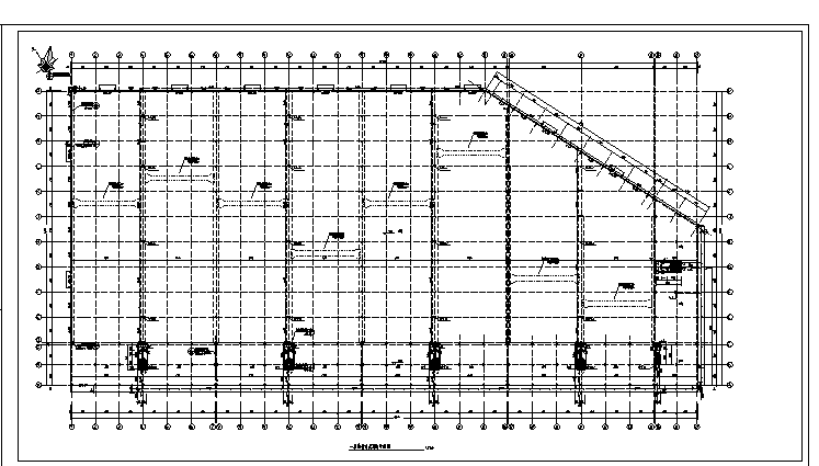 厂房给排水施工图