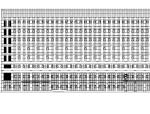 [江苏]高层市民办事大厅及配套办公施工图(含多栋楼及全专业)