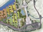 """[湖南]""""皇坟""""西北民族文化特色盆景园景观规划设计方案"""