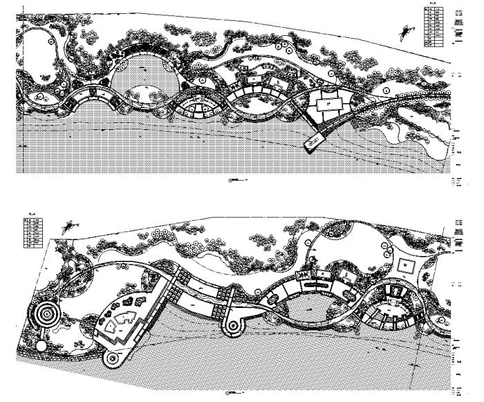 [福建]海滨沙滩景观工程设计全套施工图