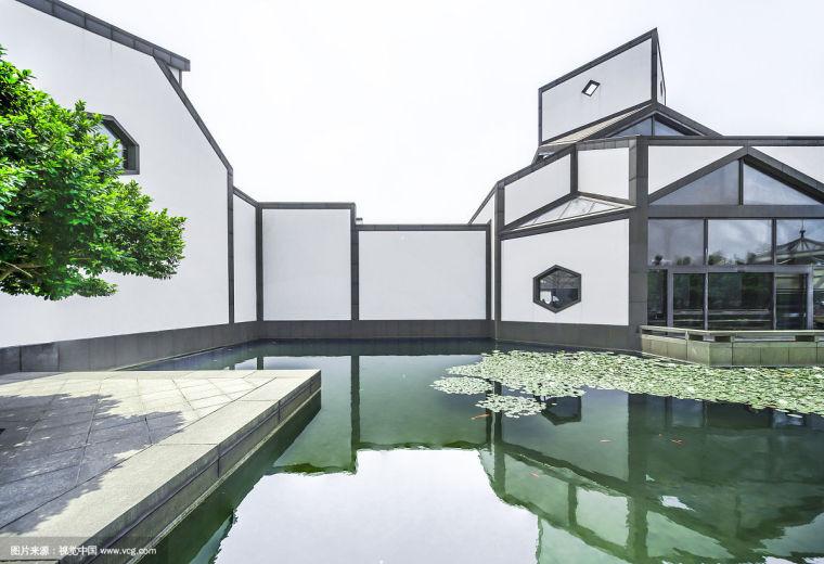 苏州博物馆平面图