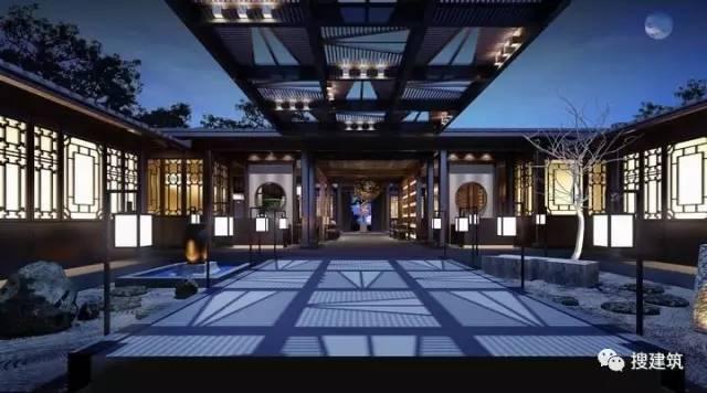 新中式建筑案例