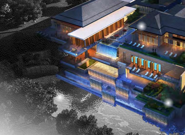 [北京]高端商业会议中心景观规划设计(新中式)