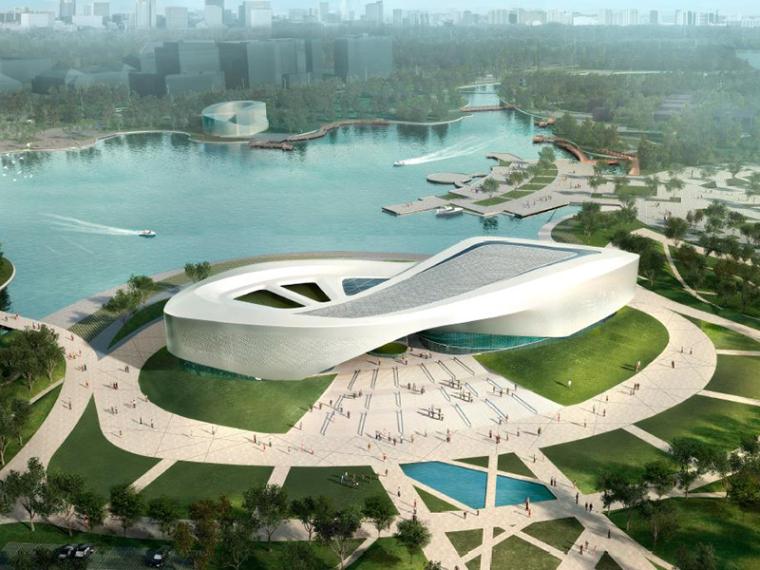 [安徽]铜陵城市规划展示馆建筑设计方案——清华设计