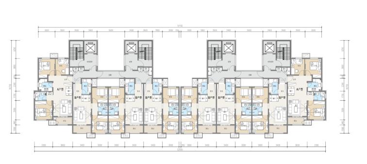 [河北]20层高层住宅及幼儿园建筑设计方案文本(16年最新项目)_9