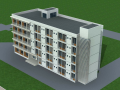 4723平米五层高校学生公寓结构计算毕业设计(Word.61页)