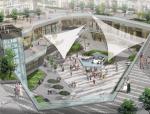 [上海]现代生态可持续性商业空间景观规划设计方案