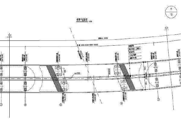 2016年40+62+34m连续钢箱梁主桥+预应力等截面连续箱梁引桥工程图纸136张(C50混凝土)