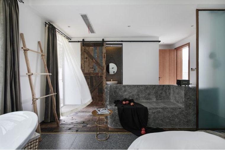 水泥厂改造成民宿,自然简约的设计就是这么美_32