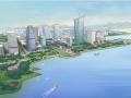 [广东]茂名环水东湾新城规划设计(现代,滨水)