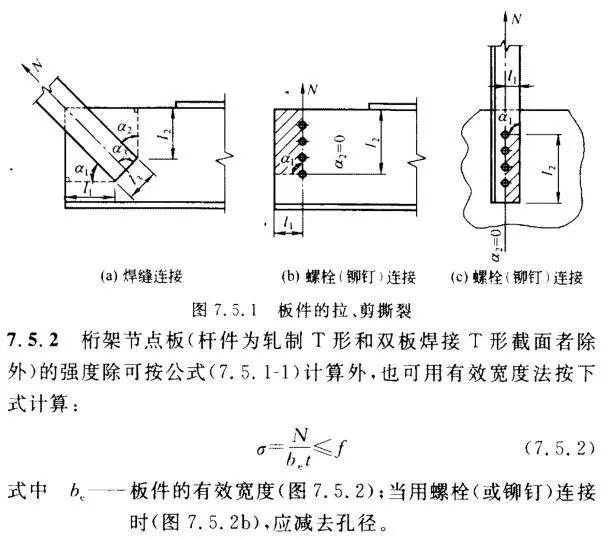 钢结构节点连接板设计,国标、美标怎么说!_7
