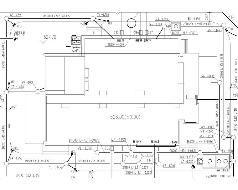 [山东]青岛某高层建筑给排水图集(含生活给水管道、排水管道、消防管道系统设计)