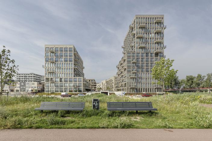 荷兰ZeeburgerIsland住宅综合体