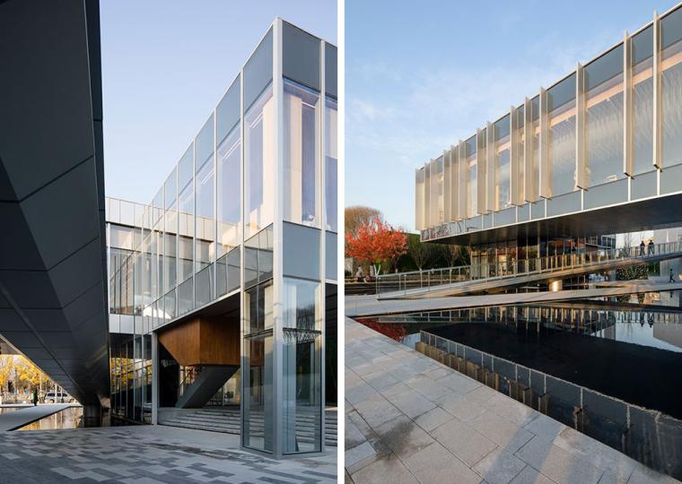 北京万科自由风格诠释的云中图书馆