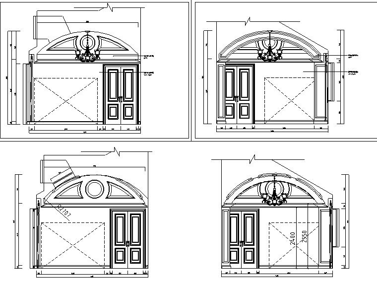 [北京]邱德光龙湾别墅纯欧式设计全套施工图