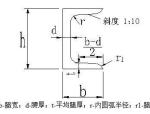 型钢(槽钢、工字、角钢...)理论重量表大全