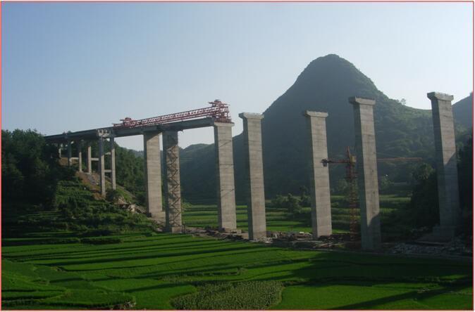 [QC成果]提高翻模施工高墩柱的质量