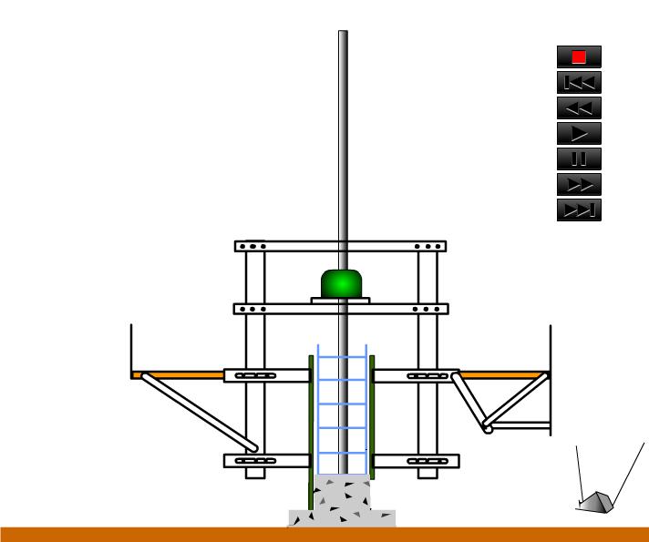 滑升模板施工动画演示