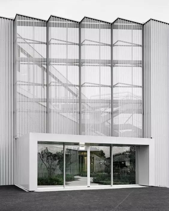 超有设计感的建筑入口_4