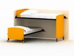 活动双层床3D模型下载