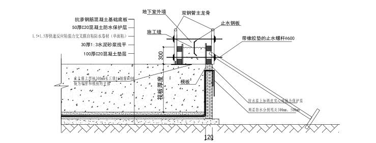 [北京]运河核心区地块项目木模板施工方案