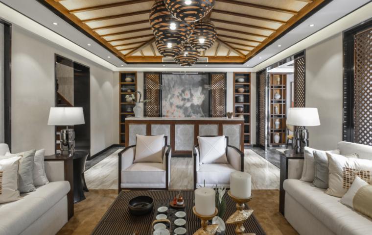 东南亚风格独栋别墅设计方案文本