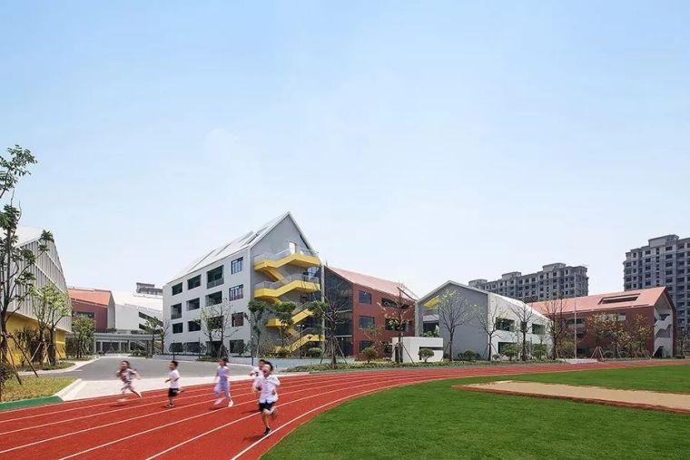 U模型幼儿园资料下载-学校的设计,打破传统,给孩子们应有的快乐空间——杭州未来科技