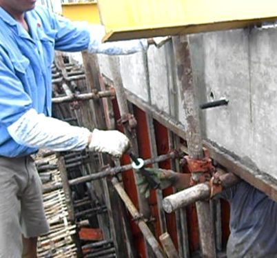 一种新型工具式悬挑架——花篮拉杆工具式悬挑架施工工法_38