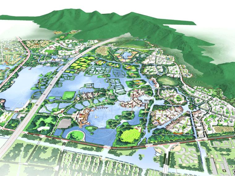 [广东]湖州市太湖梅西片城市景观规划设计(PPT+106页)