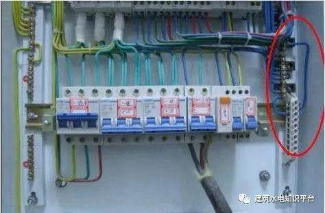 建筑电气工程施工质量通病和解决方法(现场施工图片解说)_37