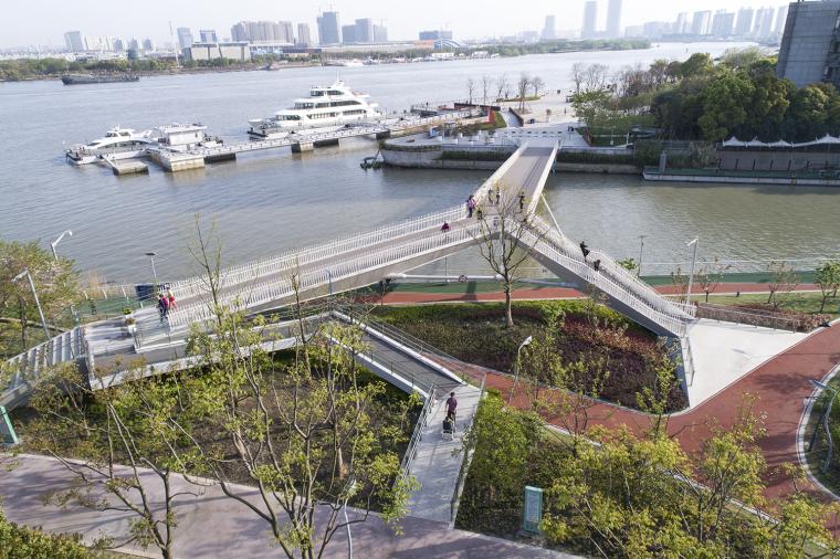 上海日晖港步行桥
