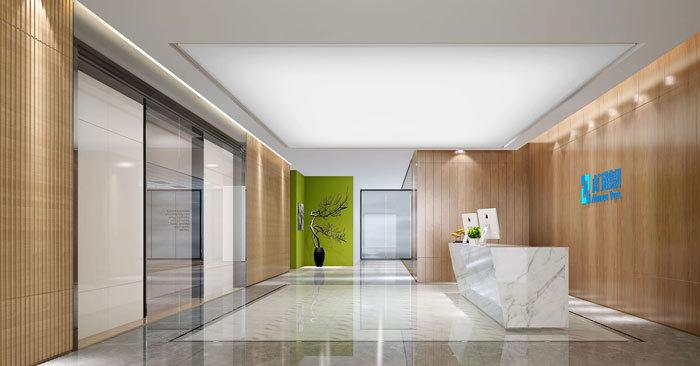 现代简约风格办公室装修设计