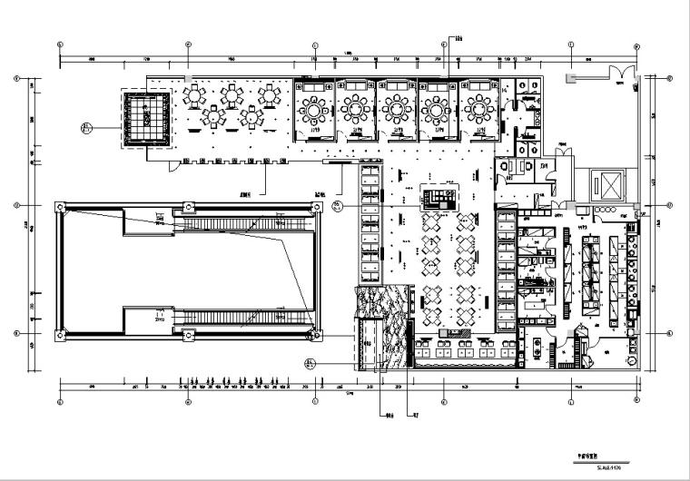 [福州]主题餐厅设计施工图(含效果图)
