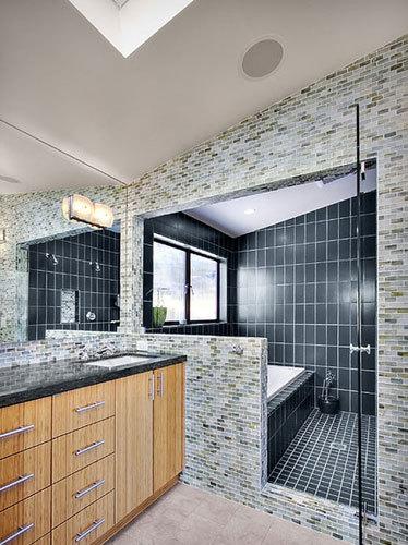 小空间大布局 8个卫浴间隔断设计
