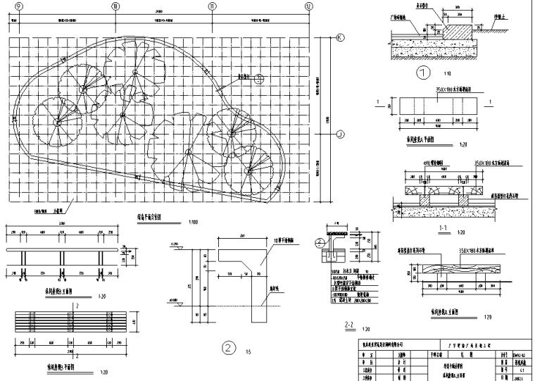 重庆广安思源广场景观工程CAD全套施工图_9