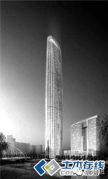 天津津塔——超高钢板剪力墙结构建筑