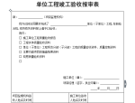 【B类表格】单位工程竣工验收报审表