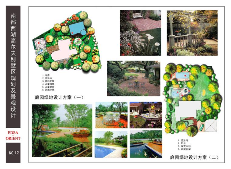 [浙江]杭州某别墅区景观设计方案
