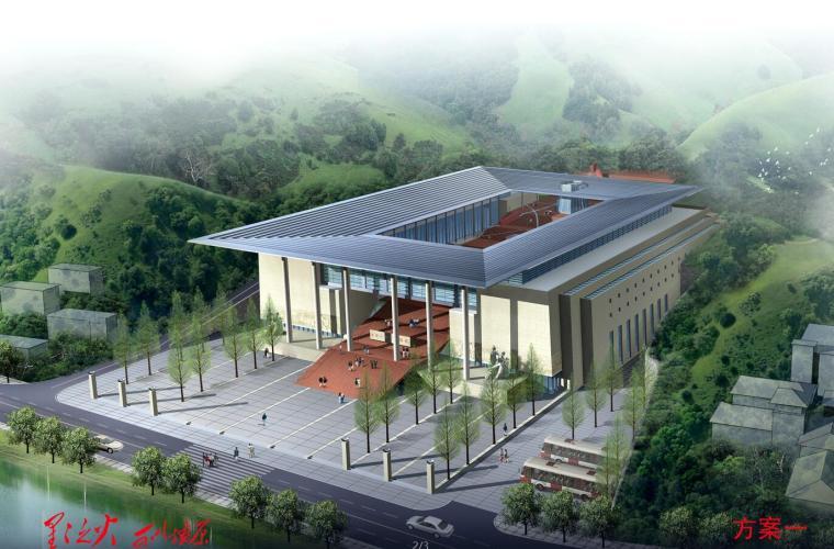 [江西]历史革命博物馆新馆建筑设计(CAD+文本).