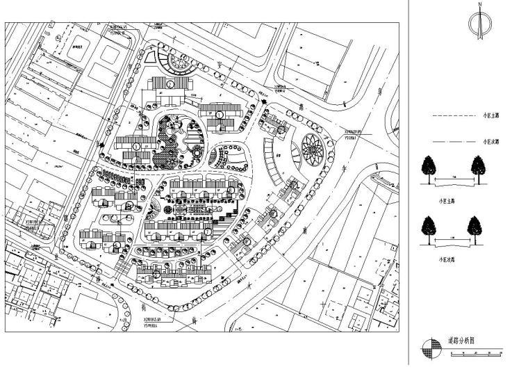 某花园综合住宅区详细规划cad28张_6