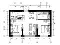 [黑龙江]现代风格样板间设计CAD施工图(含效果图)