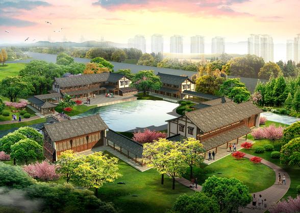 [北京]通州市新通掘公路西侧地块景观设计方案