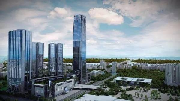 [甘肃]超高层城市综合体项目-BIM在顶模中的单项应用成果(甘肃兰州鸿运·金茂广场)