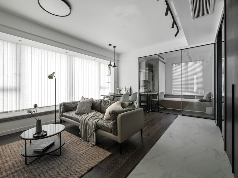 现代风格的居住空间