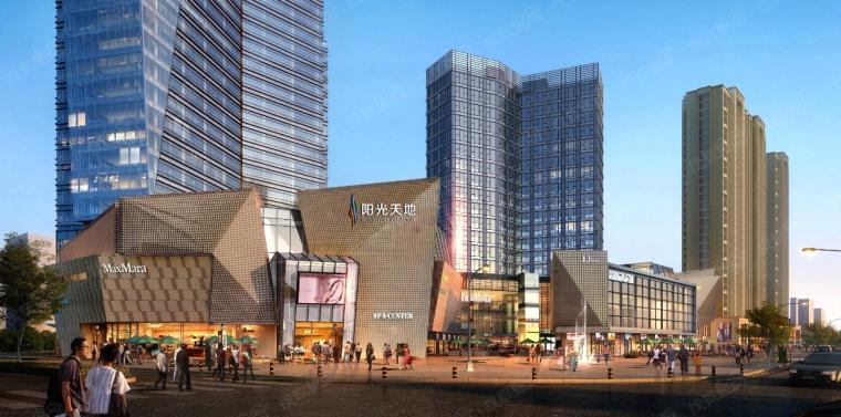 上海商业广场项目电气系统图