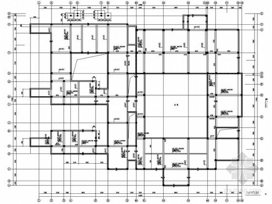 [北京]地上一层局部两层框架结构中式别墅结构施工图