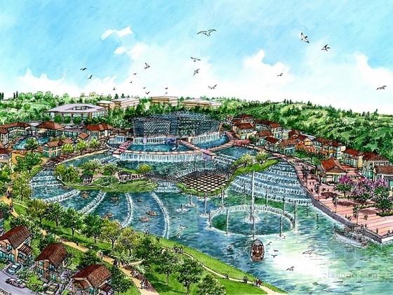 [云南]大型生态温泉度假区规划设计方案文本(知名事务所)