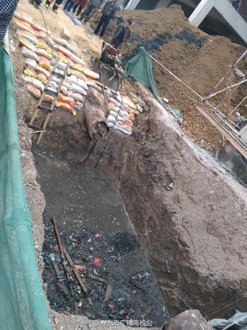 山东寿光发生一起热力管道施工事故 3人遇难