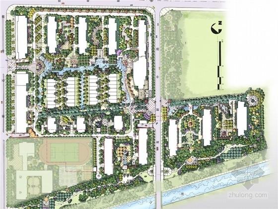 [石家庄]都市自然休闲文化居住区景观规划设计方案